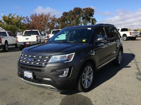 Pre-Owned 2017 Ford Explorer Limited With Navigation & 4WD