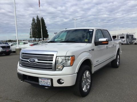 Pre-Owned 2012 Ford F-150 Platinum 4WD