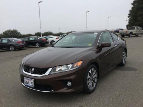 Pre-Owned 2013 Honda Accord Cpe EX-L FWD 2dr Car