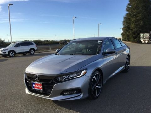 2018 Honda Accord Sedan Sport 4dr Car