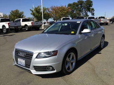 Pre-Owned 2012 Audi A4 2.0T Premium Plus AWD