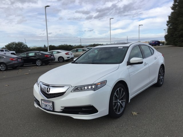 PreOwned Acura TLX V With Technology Pkg Dr Car In Chico - 2018 acura tl floor mats