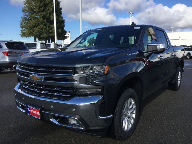 New 2019 Chevrolet Silverado 1500 Ltz Crew Cab Pickup In Chico