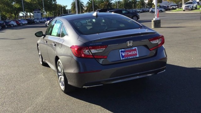 New 2018 honda accord sedan lx 4dr car in chico 18h0058 for Dr of motors chico
