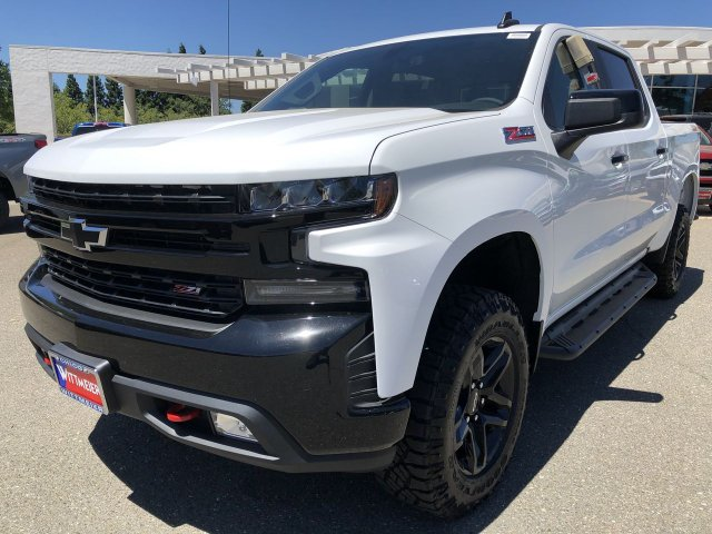 New 2019 Chevrolet Silverado 1500 Lt Trail Boss Crew Cab Pickup In